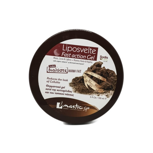 Mastic Spa Liposvelte Fast Action Gel Chocomastic 150ml
